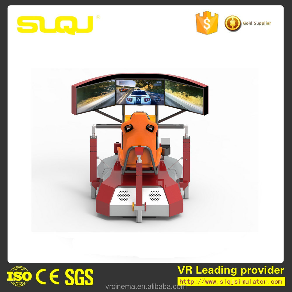 New design VR speed racing simulator game machine for shopping mall