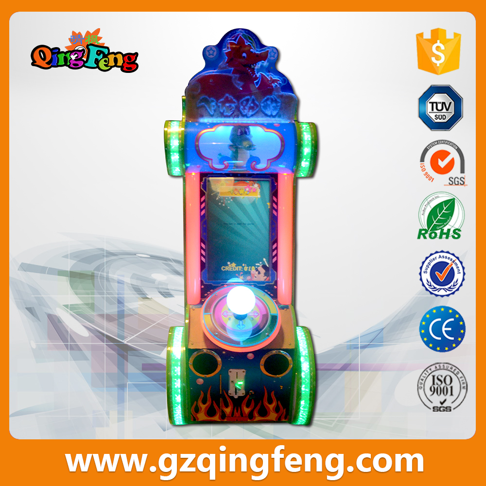 2017 new  video  entertainment mini children's coin operated game consoles
