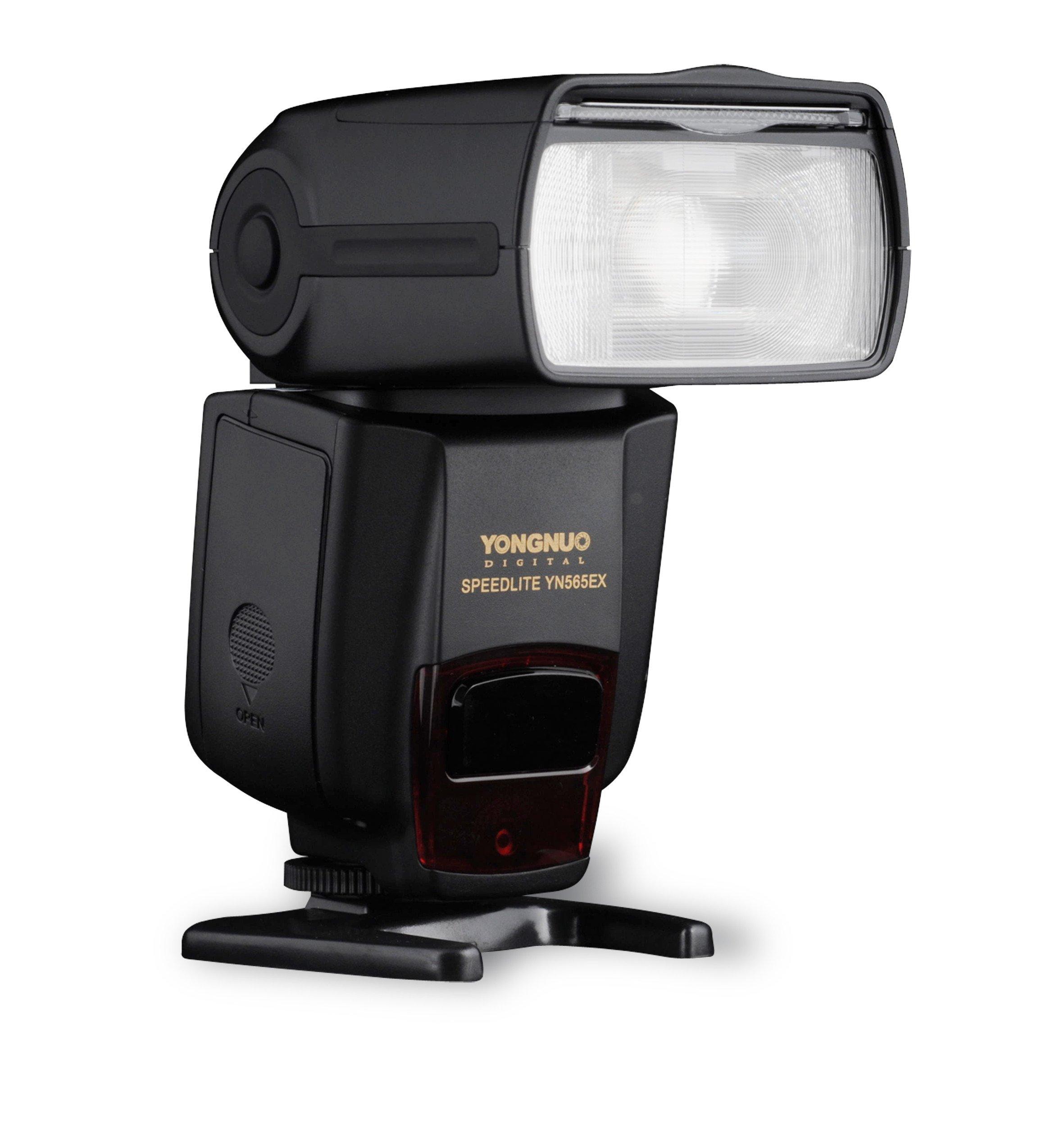 YONGNUO YN565EX YN-565EX Wireless TTL Flash Speedlite for Nikon Camera in Wireless Slave TTL mode, Digital ITTL mode, Manual and Multi Mode