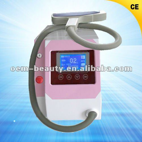Q Switch Laser Equipment to remove eyeliner nevus of Ota, coffee spot D001
