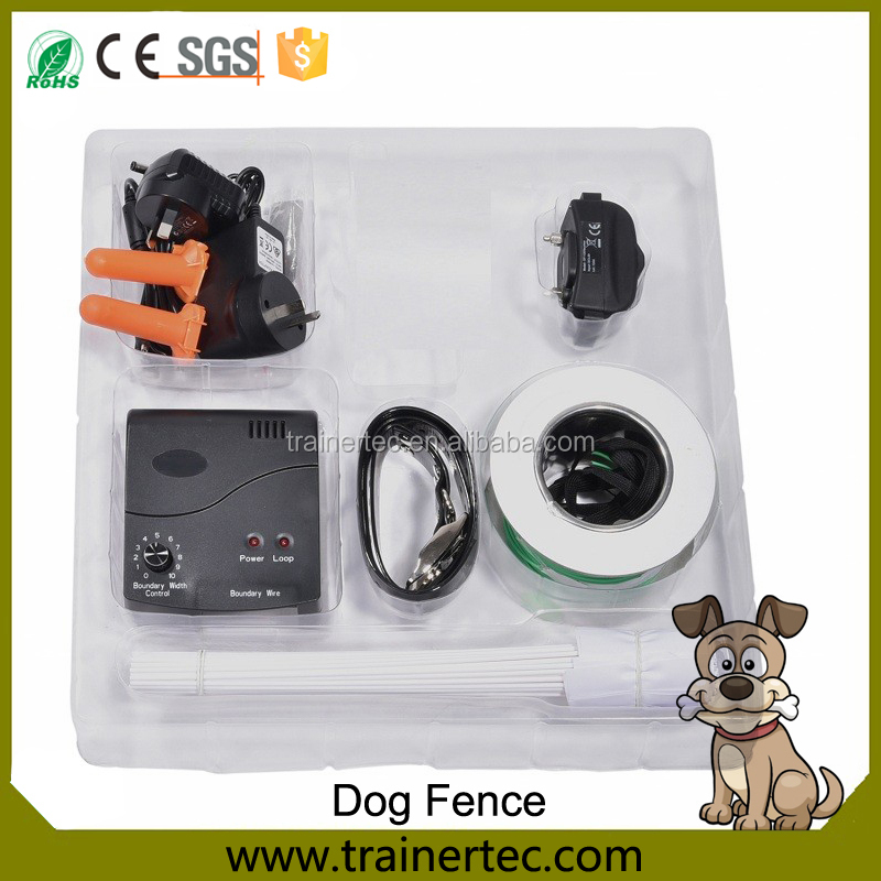 New Rechargeable Waterproof Wireless Pet Dog Temporary Fence Electric Underground Invisible Expandable Pet Dog Fence Collar