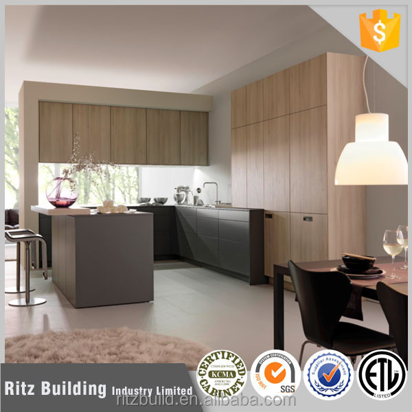 2015 massief houten keuken kast aangepaste keuken kasten modulaire keuken kast keukenmeubelen - Aangepaste kast ...