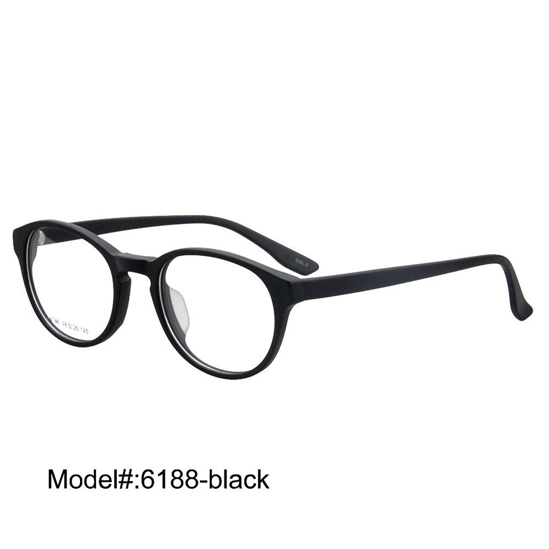 6188 Unisex Full Rim Acetate RX Optical Frames Prescription Eyeglasses