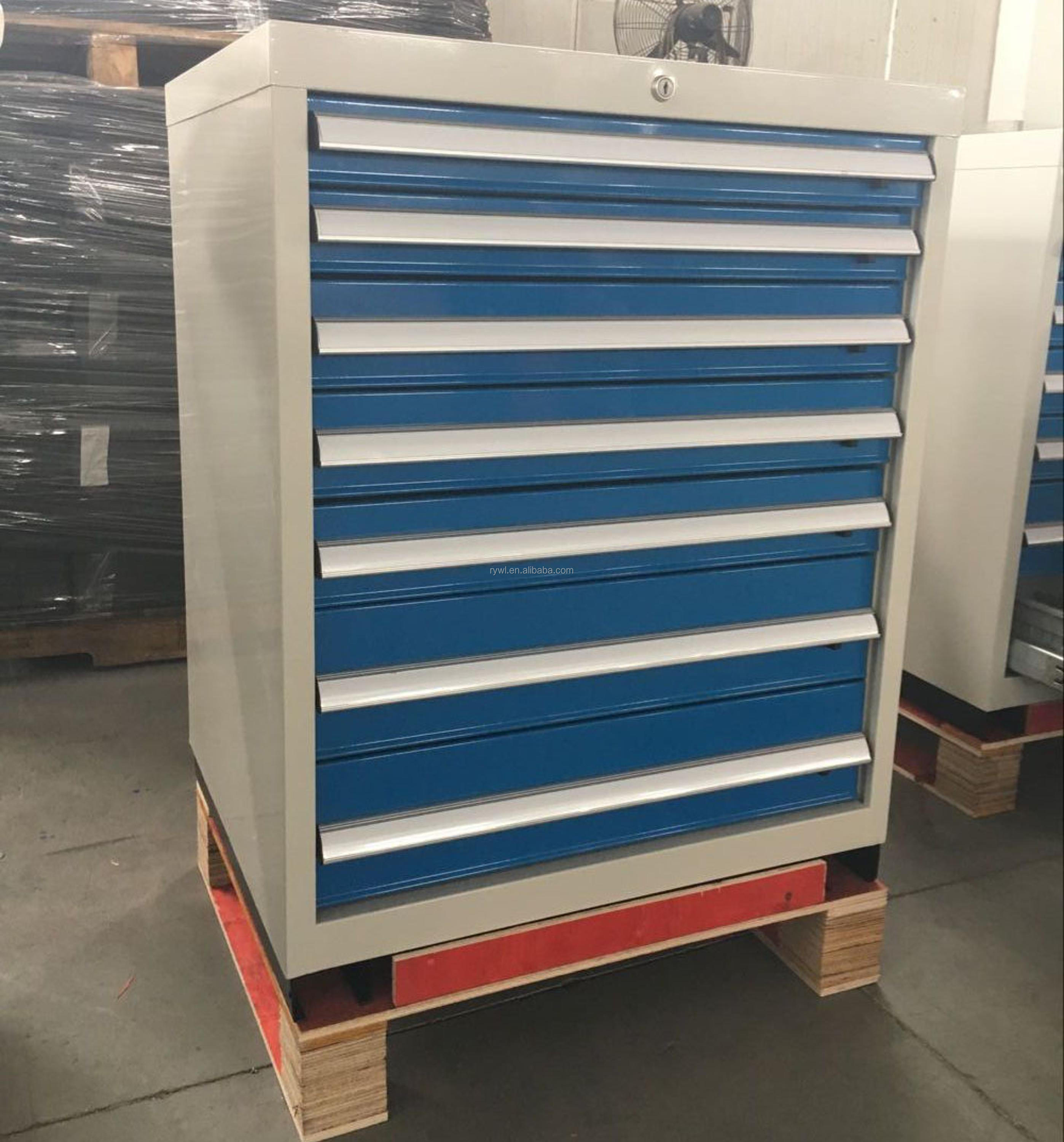 Iron Material And Cabinet Type Metal Workshop Tool Storage