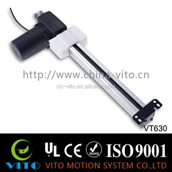 24v Dc High Speed Tubular Linear Actuator,Linear Slide Actuator,Motor  Electric Linear Actuators - Buy Tubular Actuator,12v High Speed Linear