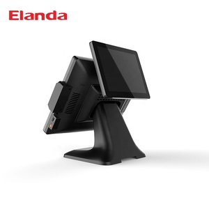 Pos System Touch Screen Modern Point of Sale Cash Register Desk All In One Android Pos for Retails