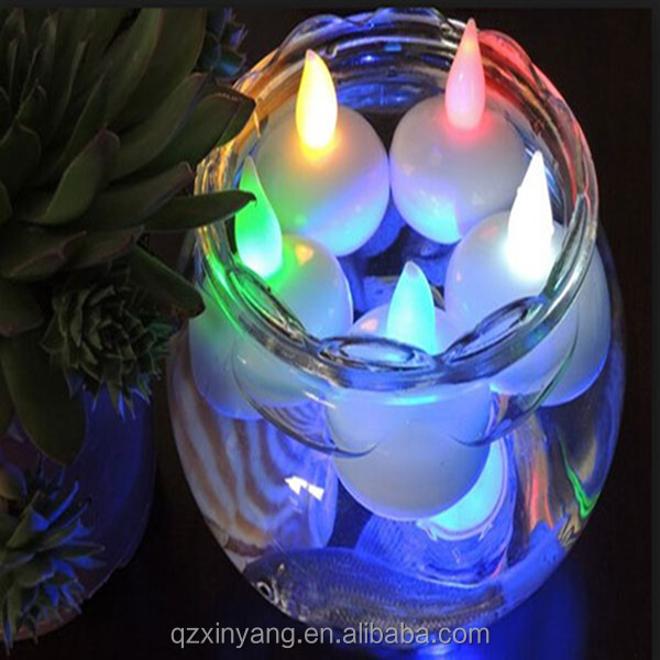 Promotion! 2014 Hot Selling Led Floating Candles waterproof light switch