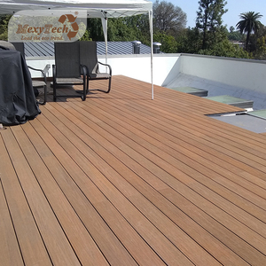 High density waterproof composite coextrusion wpc flooring durable temporary bpc outdoor decking
