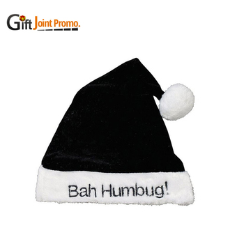 f193fd357776b Cheap Black Elf Christmas Santa Hat