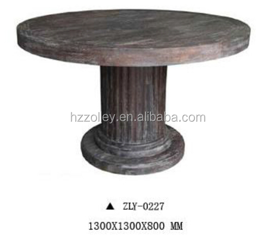 Canada wholesale round wooden restaurant bar table club table pub table