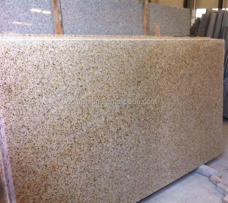 China granite building material yellow g682 slab granite strip slab stone for wholesale