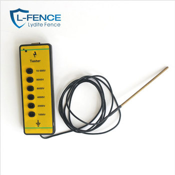 Tester Electric Fence Voltage 10 KV Test Energizer Farm Solar Charge MLD-001