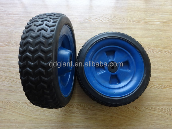 "10""x3.5"" Mould Plastic Toy Wheels"