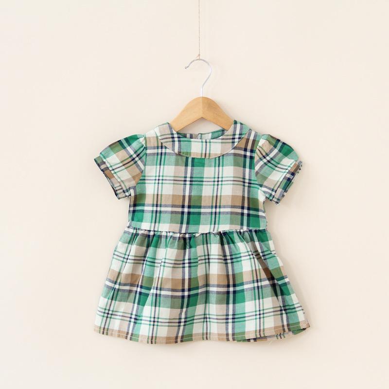 78eab24a6 Cheap Baby Cotton Plaid Dress