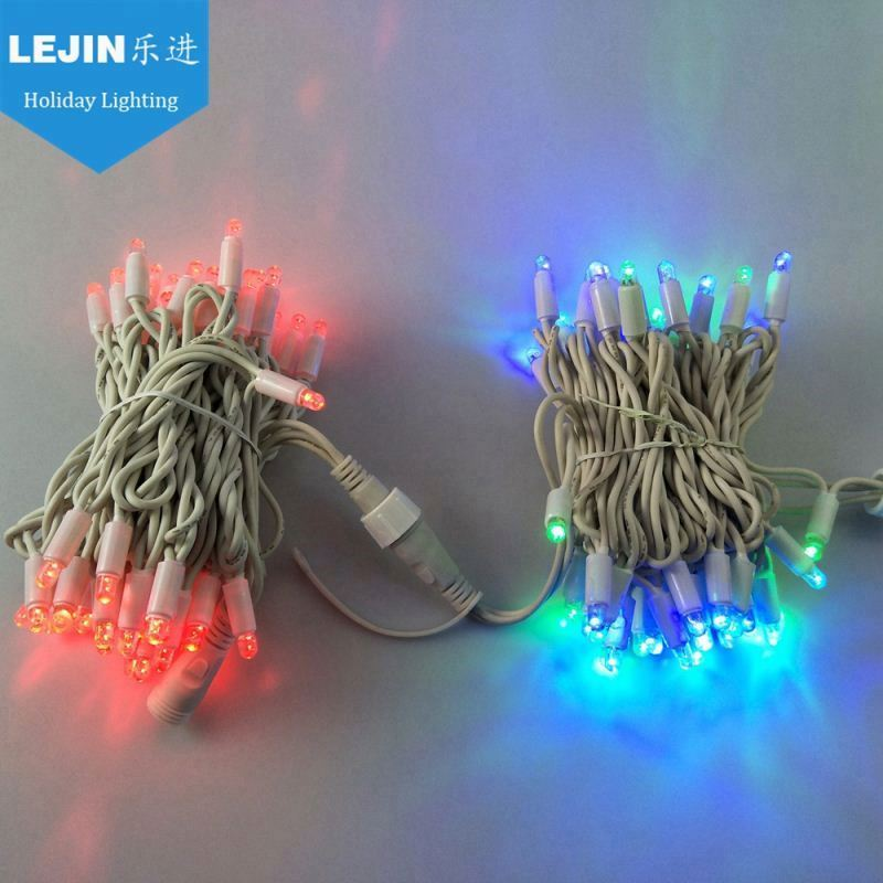 In stock Neon Lights rubber wire ip65 10meters 100bulbs led string light