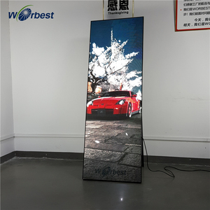Worbest LED advertising machine photo booth video for wedding rental business