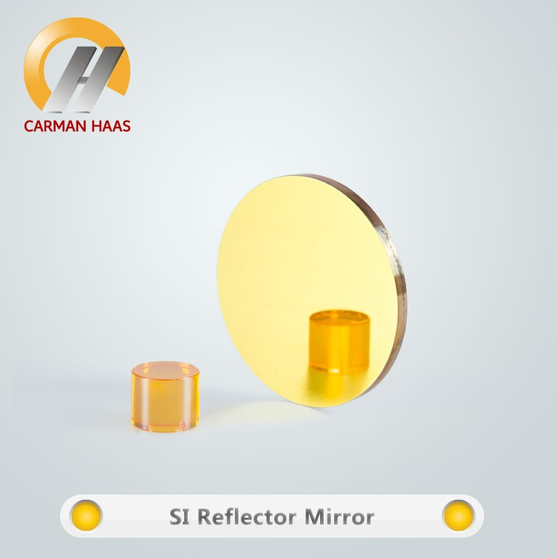 Diffreent size Diameter 25mm*3mm Silicon Gold-plated Reflective Mirror for high power