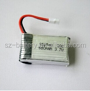 Hhs Li-ion Battery 20c 3.7v 600mah 802540 Polymer Li-ion Battery ...