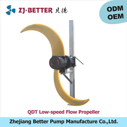 creation of water flow QDT low-speed flow propeller /low-speed submersible water pump