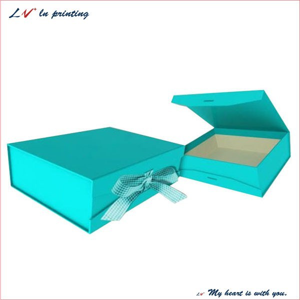 Custom Magnetic Closure Gift Box/ Flip Top Gift Box With Magnetic ...