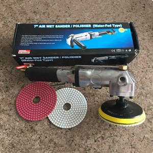ConvenientPolishing Pad Wet Air Polisher Water Angle Grinder