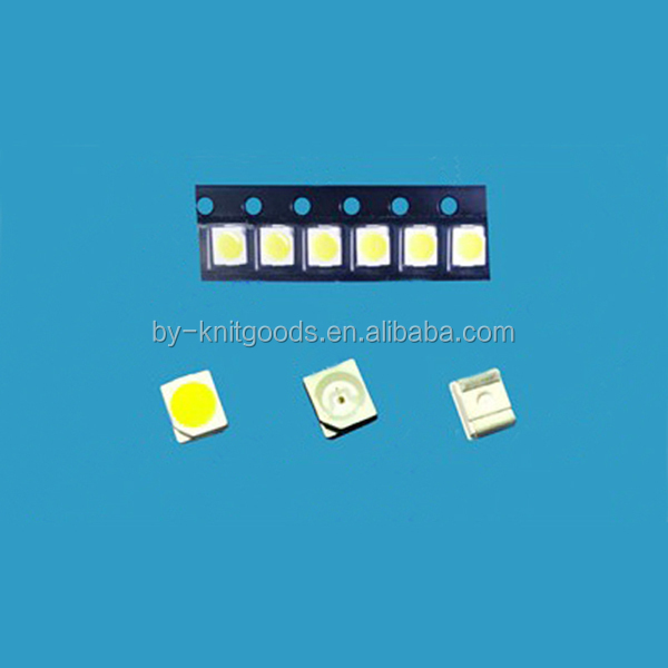 pure white 3528 led chips/smd led 3528 1800-2200mcd 6000-6500K