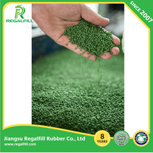 Eco-friendly Recyle Synthetic Turf Green Rubber granules for Artificial Grass