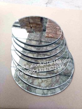 Gros Decoratif Personnalise Taille Miroir Rond Auto Adhesif Miroir