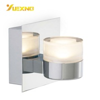 Bathroom Light IP44 5W COB LED Wall Custom Lamp With Acrylic Lamp Shade
