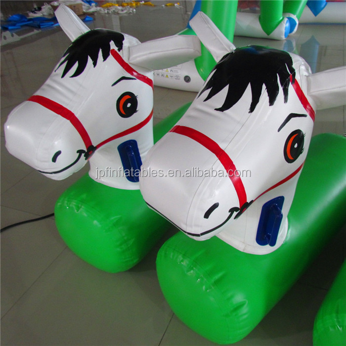 2019 horse rental small  inflatable rocking horse for sale