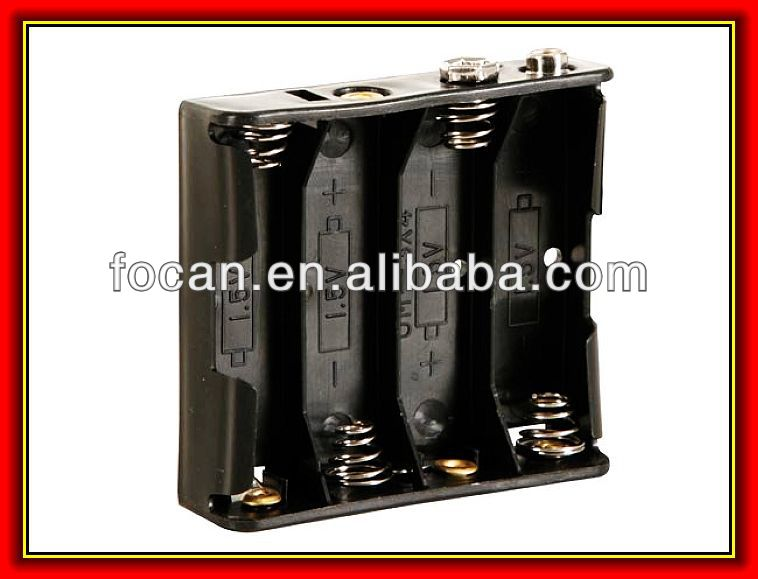 "Four""aa"" Cell Battery Holder,Um-3 Battery Box,Bh341 Battery Holder ..."