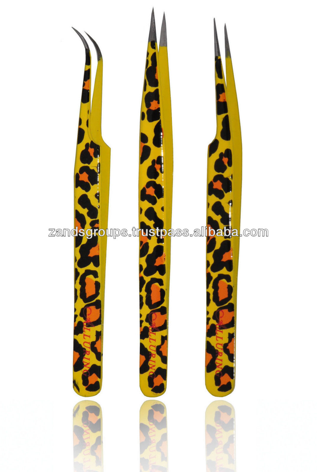 Eyelash Extension Color Tweezers Leopard