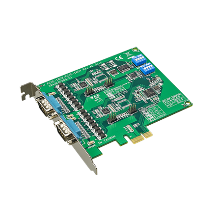 Advantech industrial motherboard PCIE-1602C-AE 2-port RS-232/422/485 PCI Express Communication Card w/Surge & Isolation