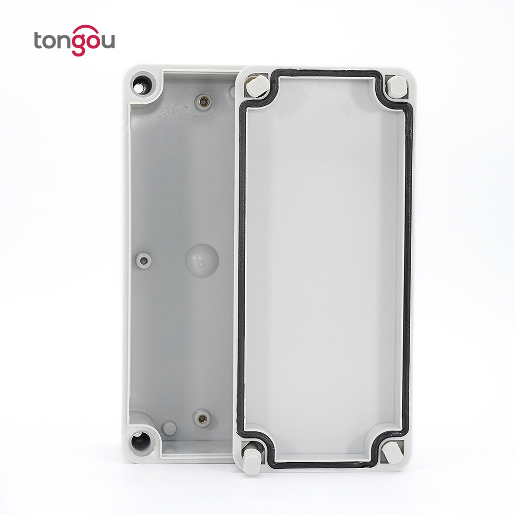 IP67 180*80*70 mm Small outdoor PVC plastic waterproof enclosure/Junction plastic box making machine