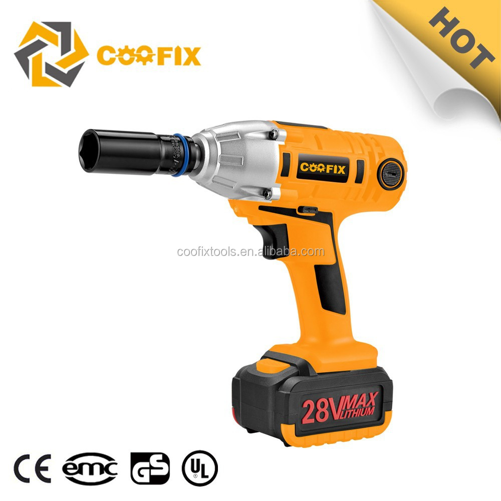 electric cordless impact ratchet wrench 24mm 2015 CF3006A