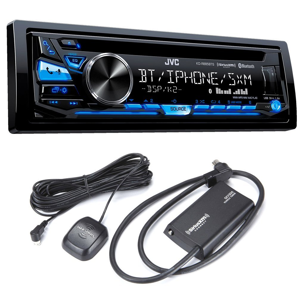 Buy JVC KD-R885BTS CD Receiver with Sirius XM Tuner in Cheap
