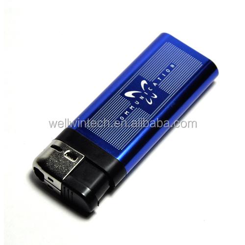 1080P Spy Camera Lighter Hidden USB DV DVR Video Recorder Night Camcorde Blue BA