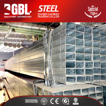 Cheap building materials hollow rectangular galvanized for Cheap construction materials