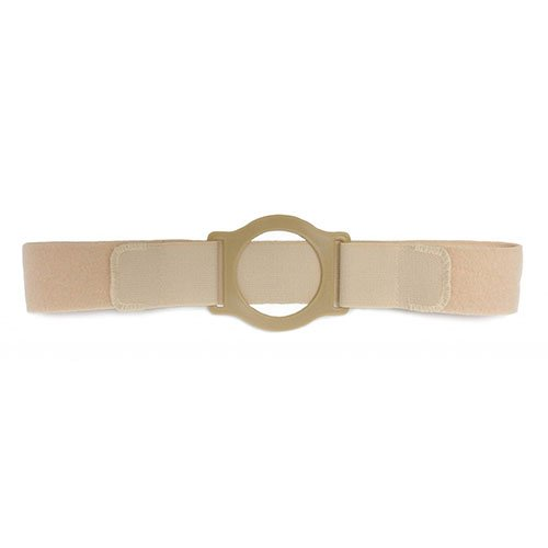 "Nu-Comfort 2"" Wide Beige Support Belt 2-3/4"" I.D. Ring Plate 41"" - 46"" Waist X-Large, Latex-Free BG-2626-A Qty 1"