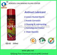 Anti Rust Lubricant Spray for OEM service