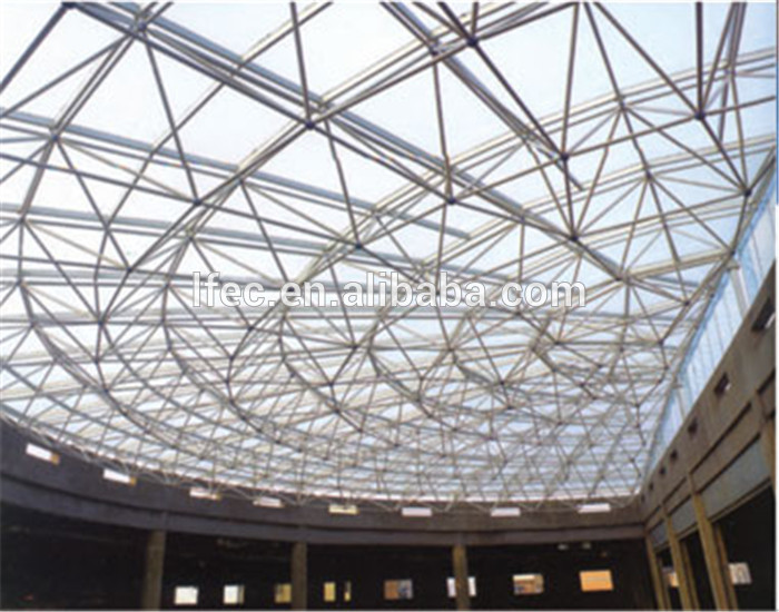 20x70m big span steel space frame conference hall