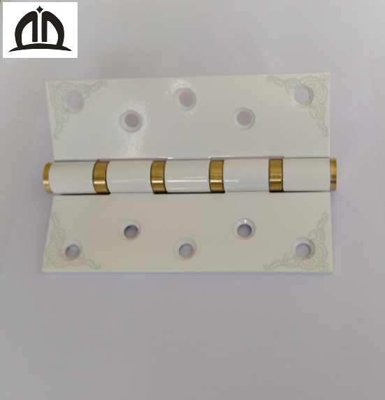 5 inch 4 BB hardware stainless steel 304 white metal door hinge