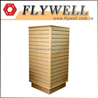 Retail Store Clothing PVC Slatwall Display Panel Ideas