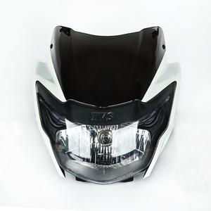 HAISSKY China motorcycle parts TVS apache motorcycle head light assy