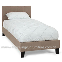Hot sale single twin size fabric bed