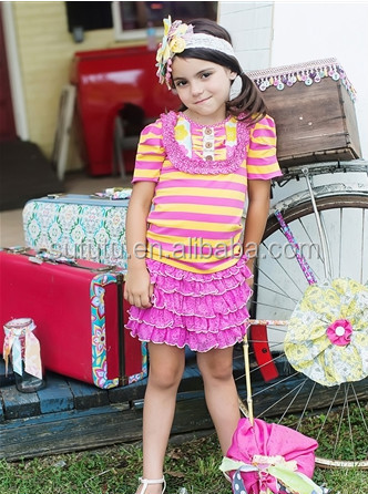 wholesale trendy kids clothes red tutu dress with tulle heart tee set girls valentines outfits custom