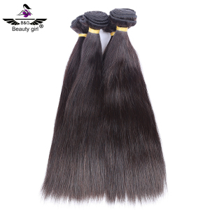 Factory price high quality virgin human hair , straight hair is combed peerless peruvian hair weft
