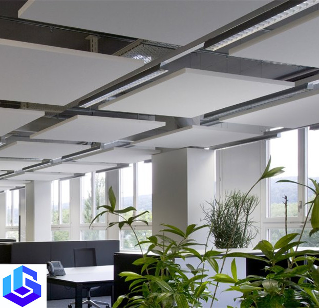 alkali resistant glass fiber new lightweight products acoustic ceiling panel