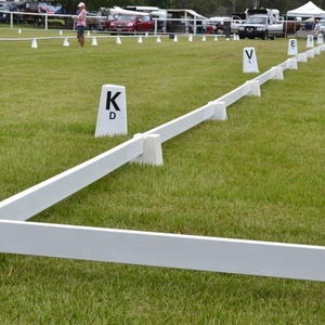 Factory Manufacturing Portable/Durable/Movable Vinyl /PVC/Plastic Dressage Arena,Horse Fence