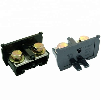 TA-200 Din Rail Mounted 600V 200 Amp Brass Terminal Block